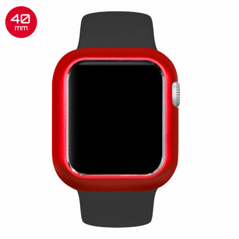 Red Aluminum Magnetic iWatch Case 40mm