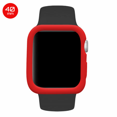 Red iWatch Silicone Case 40mm
