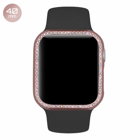 Rose Diamond Aluminum iWatch Case 40mm