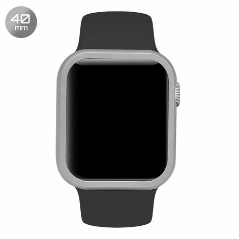 Silver Aluminum iWatch Case 40mm