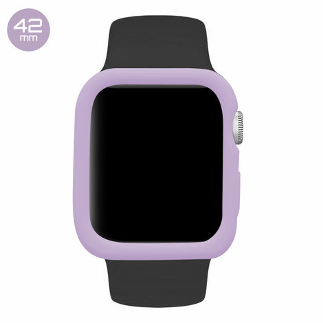 Lavender iWatch Silicone Case 42mm