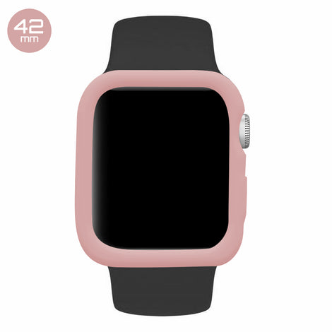 Pink Sand iWatch Silicone Case 42mm