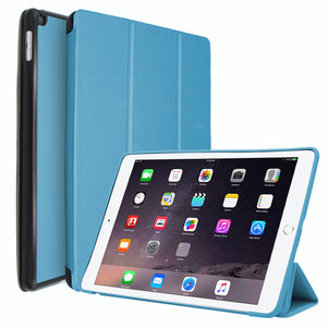 Light Blue Intelegente PC Case for iPad 10.2