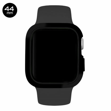 Black/Black iWatch Silicone Case 44mm