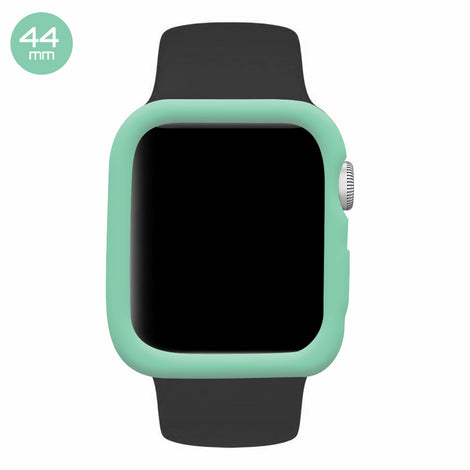 Mint iWatch Silicone Case 44mm