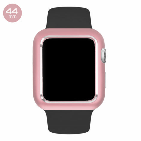 Rose Aluminum Magnetic iWatch Case 44mm