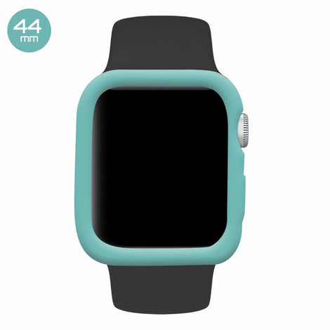 Turquoise iWatch Silicone Case 44mm