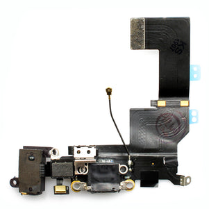 iPhone 5SE Black Charging Port