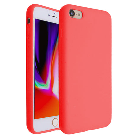 Hot Red Silicona Case for iPhone 7/8