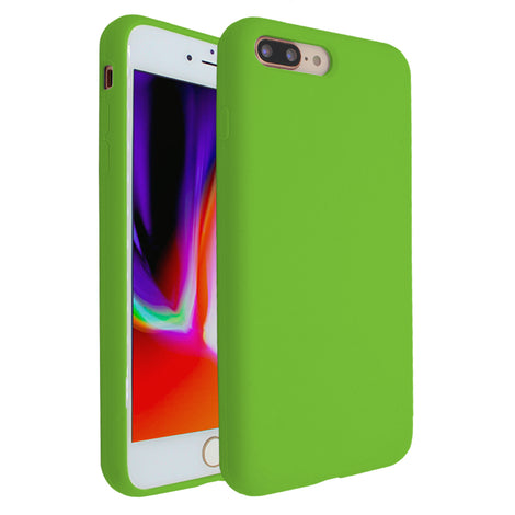 Green Silicona Case for iPhone 7/8 Plus