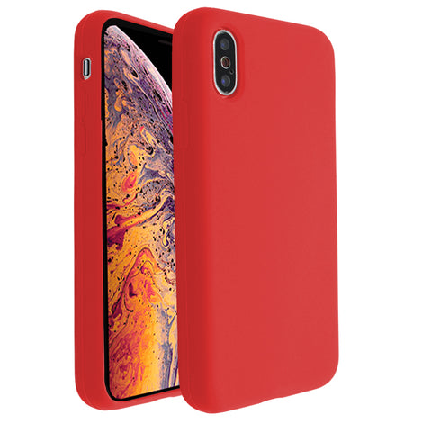 Red Silicona Case for iPhone X/XS