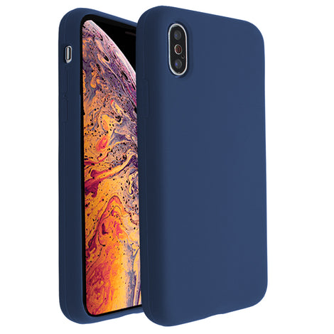 Dark Blue Silicona Case for iPhone X/XS
