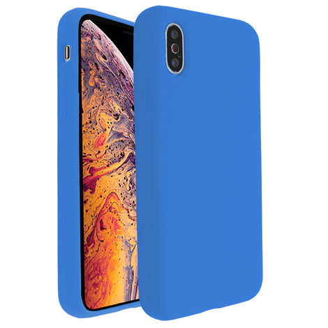 Ocean Blue Silicona Case for iPhone X/XS