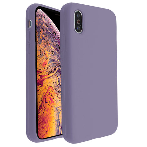 Lavender Silicona Case for iPhone X/XS
