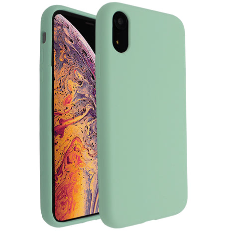 Mint Silicona Case for iPhone XR