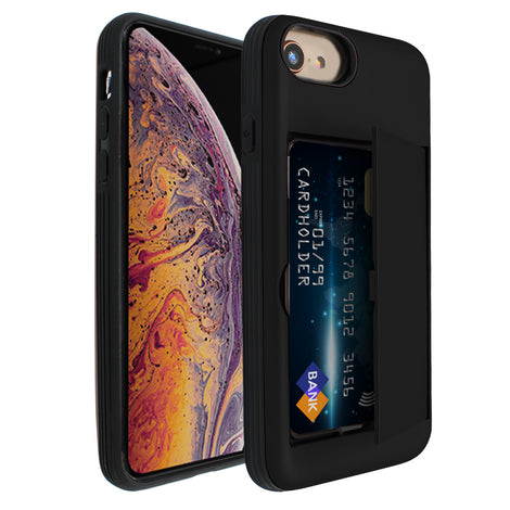 Black Carta Case for iPhone 7/8
