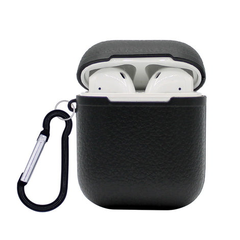 Black Grain Silicone AirPod Case