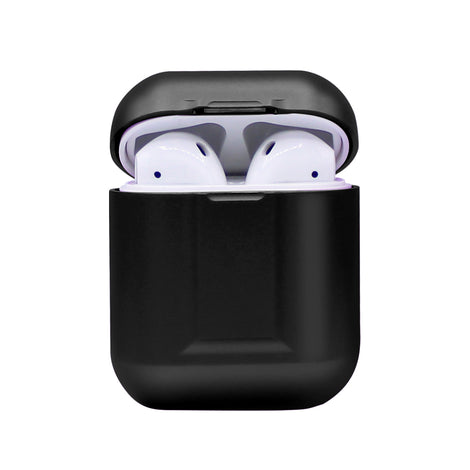 Black Metal AirPod Case