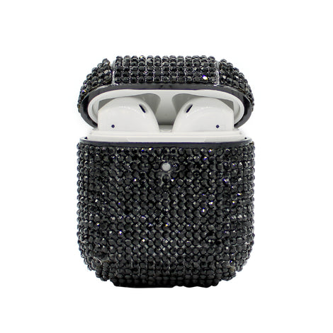 Black Rhinestone AirPod Case