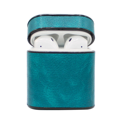 Blue Box Leather AirPod Case