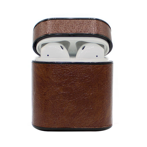 Brown Box Leather AirPod Case