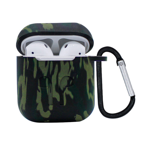 Army Camo Silicone AirPod Case