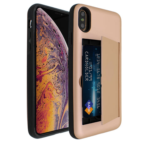 Gold Carta Case for iPhone XS Max