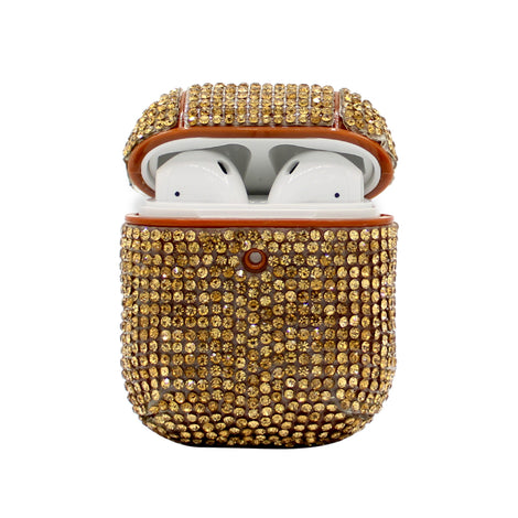 Gold Rhinestone AirPod Case