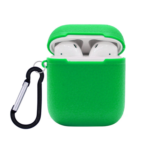 Green Grain Silicone AirPod Case