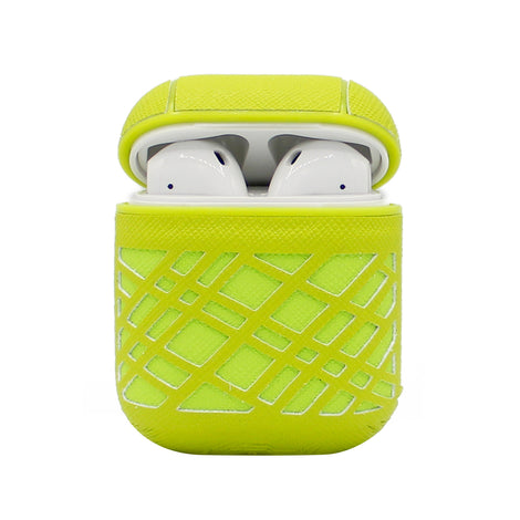 Green Weave AirPod Case
