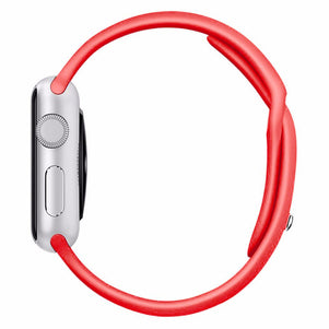 Red iWatch Regular Silicone Band 38/40mm