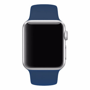 Midnight Blue iWatch Regular Silicone Band 38/40mm