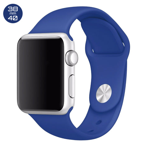 Ocean Blue iWatch Regular Silicone Band 38/40mm