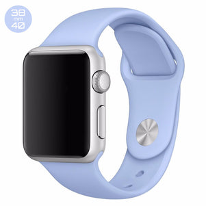 Lavender iWatch Regular Silicone Band 38/40mm