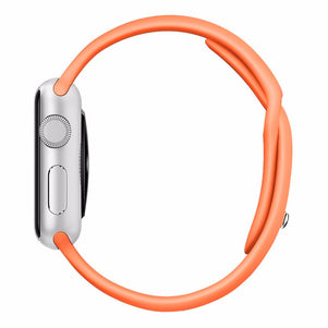 Orange iWatch Regular Silicone Band 38/40mm