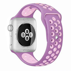 Violet/Plum Fog iWatch Sport Silicone Band 38/40mm