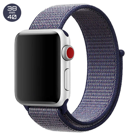 Midnight Blue iWatch Nylon Loop Band 38/40mm