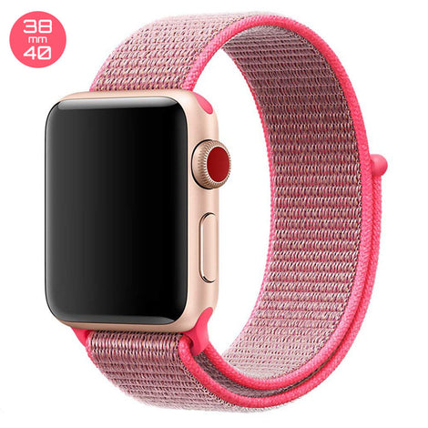 Hot Pink iWatch Nylon Loop Band 38/40mm