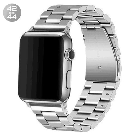 Silver iWatch Stainless Steel Link Band 42/44mm