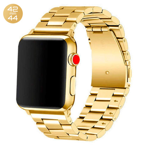 Gold iWatch Stainless Steel Link Band 42/44mm