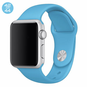 Turquoise iWatch Regular Silicone Band 42/44mm