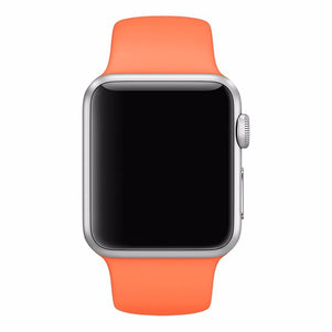 Orange iWatch Regular Silicone Band 42/44mm