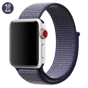Midnight Blue iWatch Nylon Loop Band 42/44mm