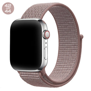 Pink Sand iWatch Nylon Loop Band 42/44mm