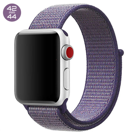 Lilac iWatch Nylon Loop Band 42/44mm