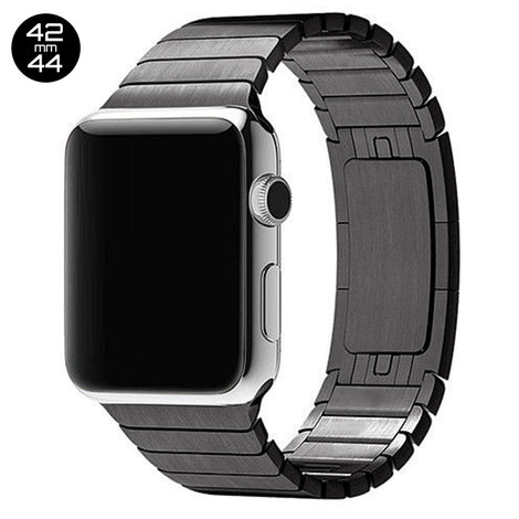 Black iWatch 3D Stainless Steel Link Band 42/44mm