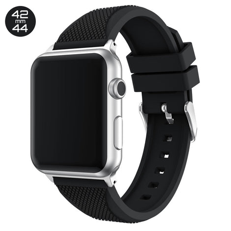 Black Pineapple Silicone iWatch Band 42/44mm