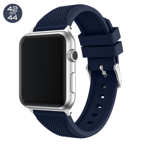 Dark Blue Pineapple Silicone iWatch Band 42/44mm