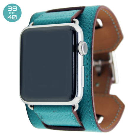 Mint Cuff Leather iWatch Band 38/40mm