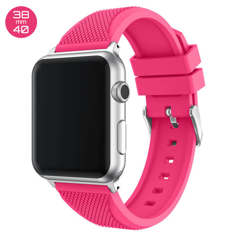Pink Pineapple Silicone iWatch Band 38/40mm